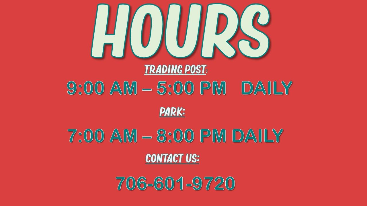 Hours for Trading Post